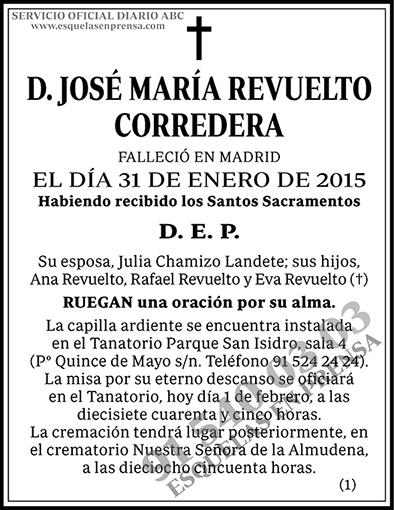 José María Revuelto Corredera